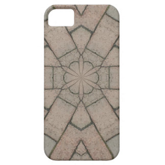 red pavers gardners kaleidescope abstract art case for the iPhone 5