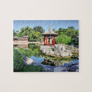 Red Pavilion Jigsaw Puzzle