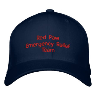Red Paw Response Hat