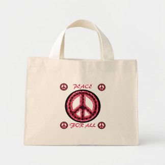 red peace for all bag