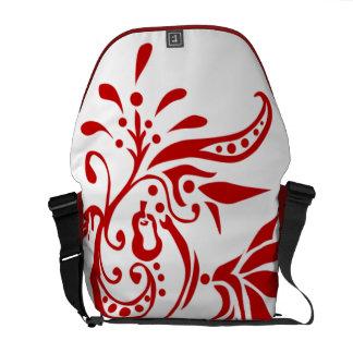 Red Pear Flourish - Messenger Bag