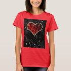 Red Pearl Heart T-Shirt