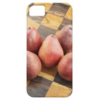 Red Pears on a Wooden Chess Board iPhone 5 Cover