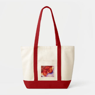 Red Pears Tote.. Tote Bag