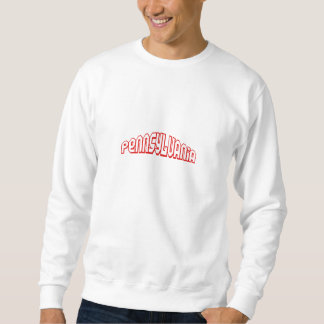 Red Pennsylvania Sweatshirt