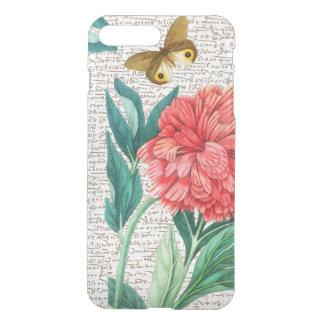 Red Peony Calligraphy iPhone 8 Plus/7 Plus Case