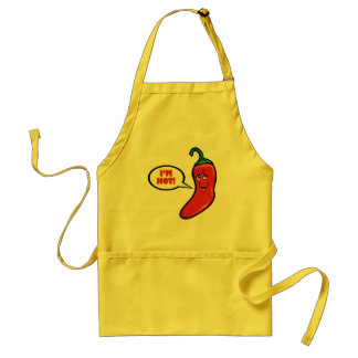 RED PEPPER HOT Apron! Standard Apron