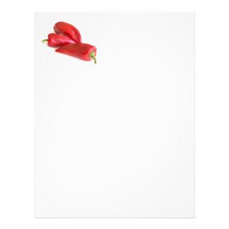 Red pepper letterhead