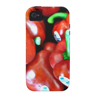Red Peppers iPhone Hard Case Vibe iPhone 4 Case