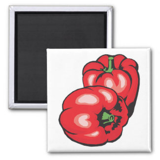 red peppers magnet