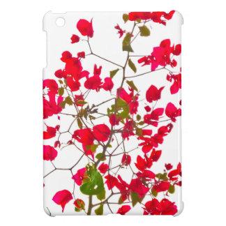 Red petals flowers iPad mini cover