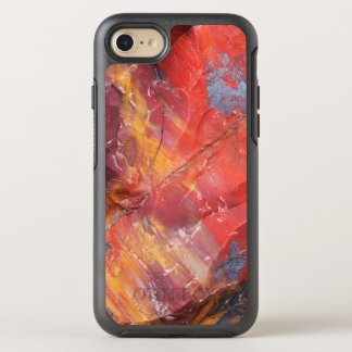 Red Petrified wood detail, Arizona OtterBox Symmetry iPhone 7 Case
