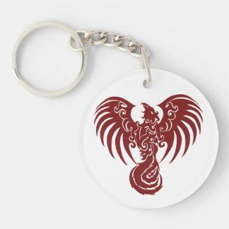 Red Phoenix Keychain