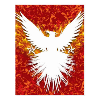 Red Phoenix Postcard