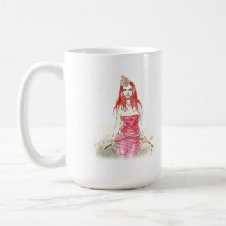 Red Phoenix Rising Mug