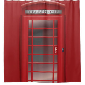 Red Phone Booth Call Box