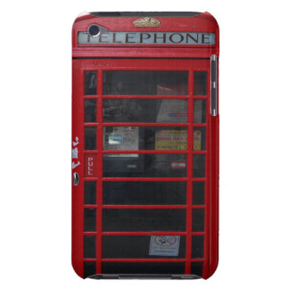 red phone booth iPod Case-Mate case
