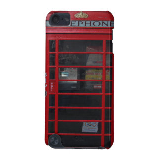 red phone booth iPod touch (5th generation) cases