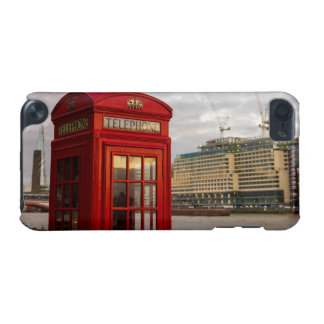Red Phone Booth - London UK iPod Touch 5G Cover