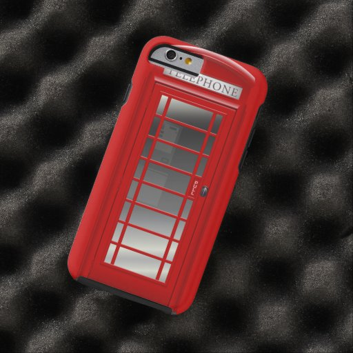 Red Phone Call Box iPhone 6 Case