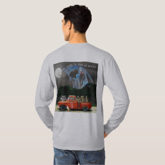 Red Pick-up Truck with Crew T-Shirt