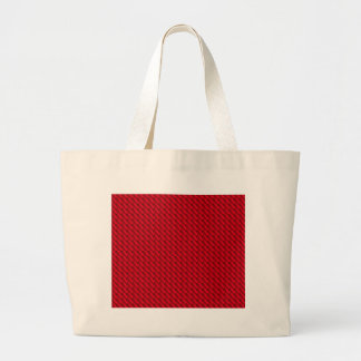 Red Pile Background Large Tote Bag