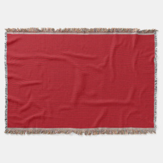 Red Pile Background Throw Blanket