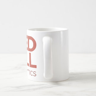 Red Pill Analytics Mug (Red Logo)