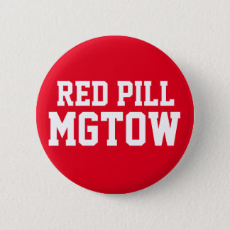 Red Pill MGTOW 2 Inch Round Button