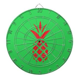 Red Pine apple in  Green Dart Board