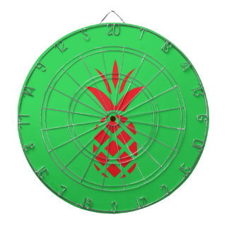 Red Pine apple in  Green Dartboard