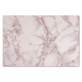 Red Pink and White Marble Design Tissue Paper