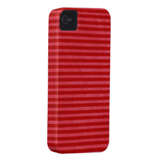 Red Pink Stripes Case