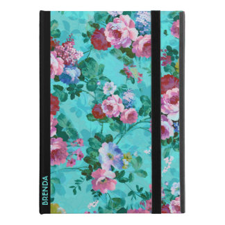 """Red & Pink Vintage Roses iPad Pro 9.7"""" Case"""