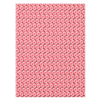 red pinwheels tablecloth