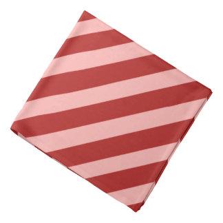 Red Pirate Stripes Bandana