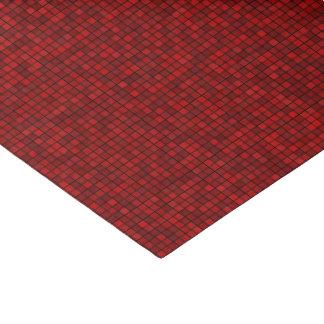 Red Pixel Pattern Tissue Paper
