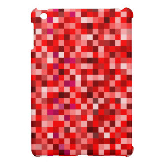 Red pixels cover for the iPad mini