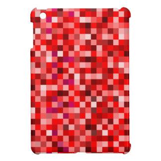 Red pixels iPad mini cover