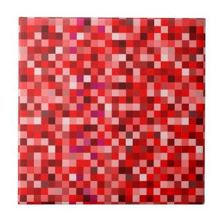 Red pixels tile
