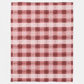 Red Plaid 2.0 Fleece Blanket