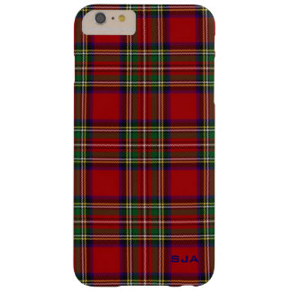 Red Plaid Design iPhone 6 Plus Case
