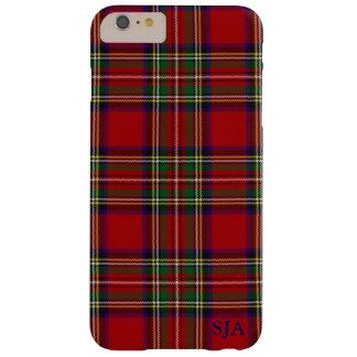 Red Plaid Design iPhone case