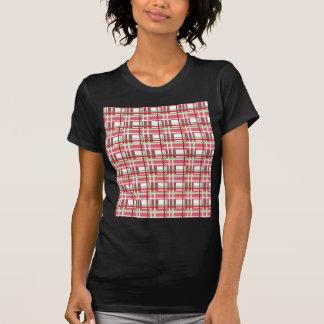 Red plaid pattern T-Shirt