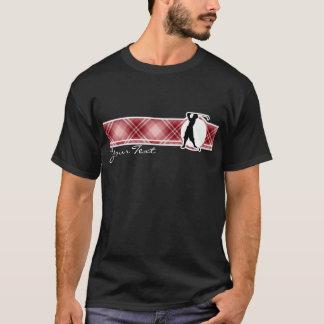 Red Plaid Vintage Golfer T-Shirt