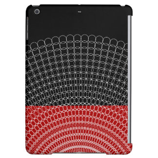 Red Planet Geometric Pattern Cover For iPad Air
