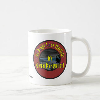 (Red) Plant Lady Mysteries Logo Coffee Cup