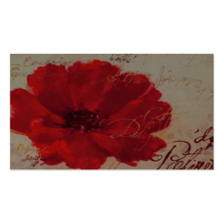 Red Plantes ~ Business Card