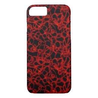 Red Plasma iPhone 7 Case