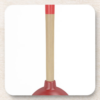 Red plunger coaster
